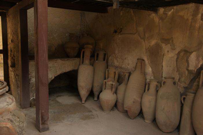 Wine Amphorae Herculaneum