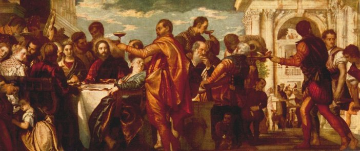 Marriage at cana Veronese